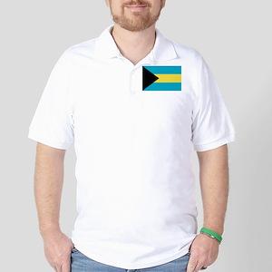 Bahamas Flag Golf Shirt