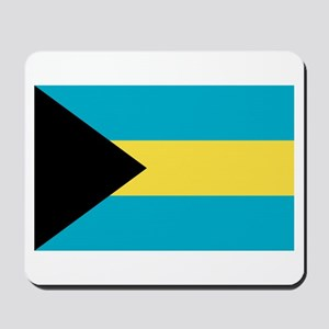Bahamas Flag Mousepad