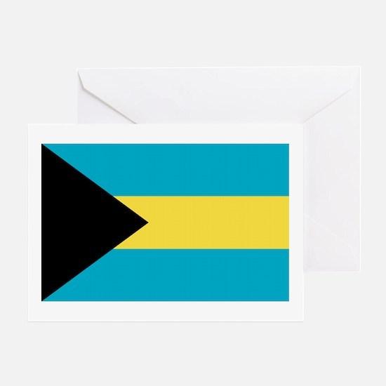 Bahamas Flag Greeting Card