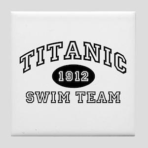 Titanic Swim Team Tile Coaster