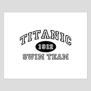 Titanic Swim Team Small Poster