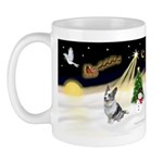 Night Flight/Corgi (BM) Mug