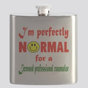 I'm perfectly normal for a Licensed professi Flask