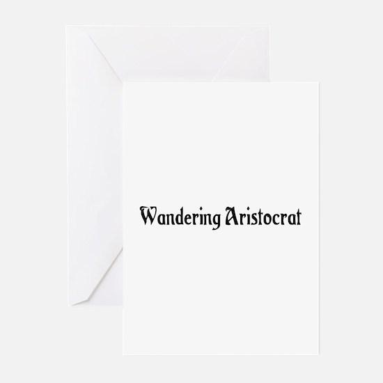 Wandering Aristocrat Greeting Cards (Pk of 20)
