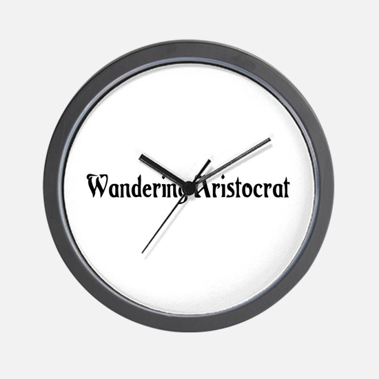 Wandering Aristocrat Wall Clock