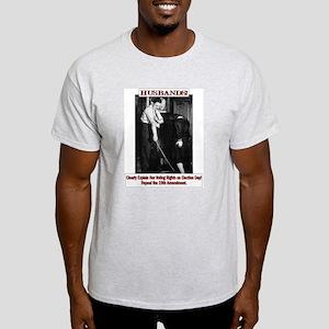 Political Humor (Wife) Ash Grey T-Shirt