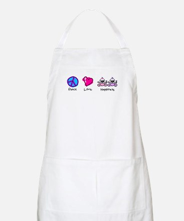 Peace Love and Twin Girls BBQ Apron