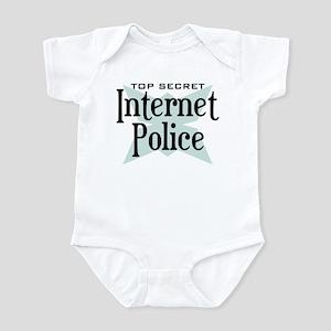 Secret Internet Police Infant Bodysuit