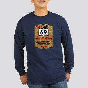 Route 69 BAr & Grill Long Sleeve Dark Tee