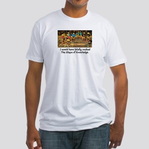 Steps of Knowledge Fitted T-Shirt
