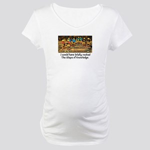 Steps of Knowledge Maternity T-Shirt