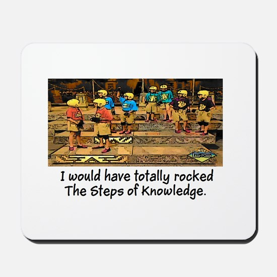 Steps of Knowledge Mousepad