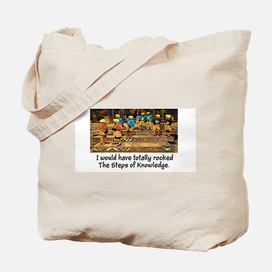 Steps of Knowledge Tote Bag