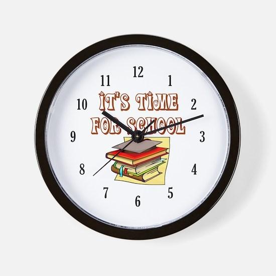 School Teacher or Teacher Aide Wall Clock