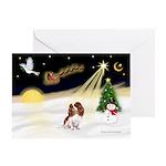 NightFlight-Cavalier Greeting Card
