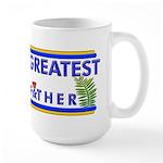 Worlds Best Mason Grandfather Large Mug
