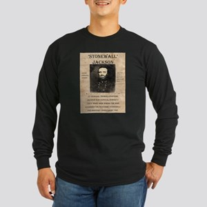 Stonewall Jackson Long Sleeve Dark T-Shirt
