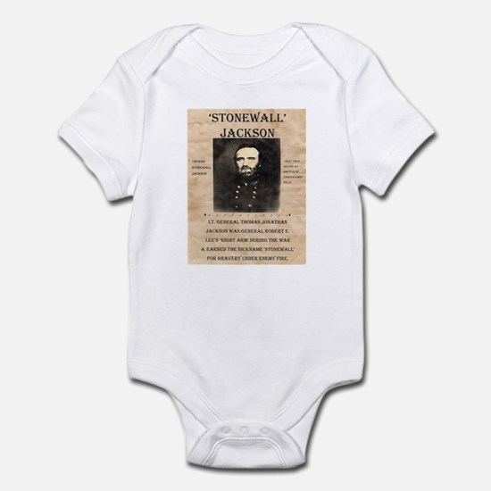 Stonewall Jackson Infant Bodysuit