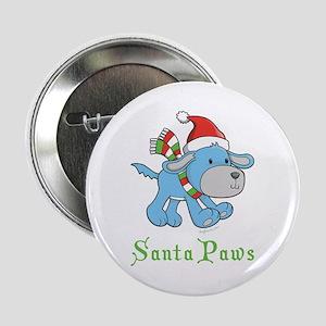 """Dog Christmas Magic 2.25"""" Button"""