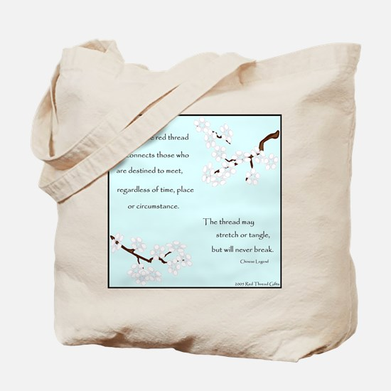 Red Thread Legend (Dogwood) Tote Bag