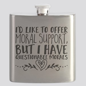 I'd like to offer moral support, but I have Flask