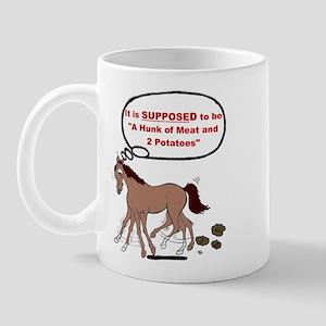 Confused Foxtrotter Mug
