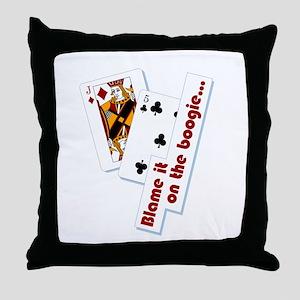 Jackson Five Throw Pillow