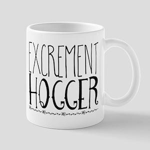 excrement hogger Mugs