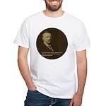 Theodore Roosevelt Quote White T-Shirt