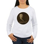 Theodore Roosevelt Quote Women's Long Sleeve T-Shi