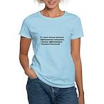 Theodore Roosevelt Quote Women's Light T-Shirt