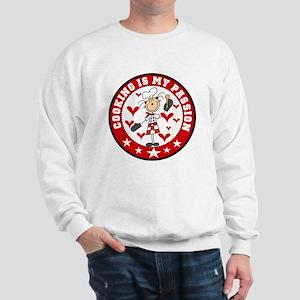 Female Cooking Passion Sweatshirt