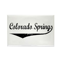 Colorado Springs Rectangle Magnet