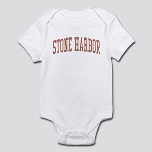 Stone Harbor New Jersey NJ Red Infant Bodysuit
