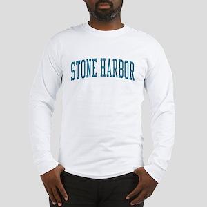 Stone Harbor New Jersey NJ Blue Long Sleeve T-Shir