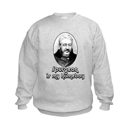 Spurgeon is my Homeboy - Kids Sweatshirt