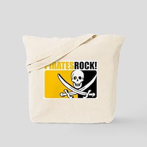 Pirates Rock! Tote Bag
