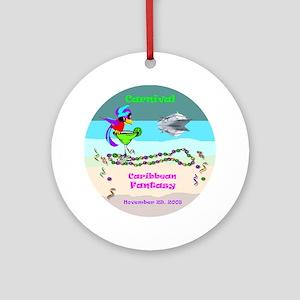 Carnival Caribbean Fantasy- Ornament (Round)