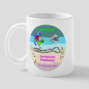 Carnival Caribbean Fantasy- Mug