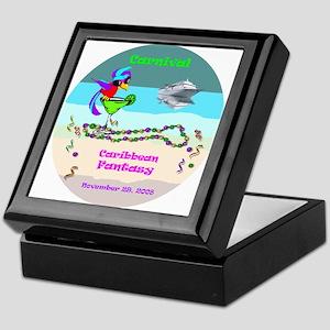 Carnival Caribbean Fantasy- Keepsake Box