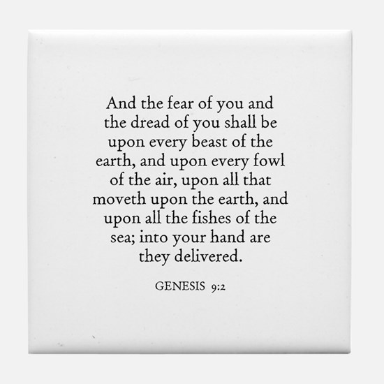 GENESIS  9:2 Tile Coaster