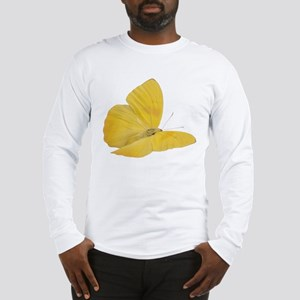 Yellow Butterfly (Bug 7) Long Sleeve T-Shirt
