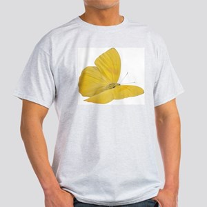 Yellow Butterfly (Bug 7) Light T-Shirt
