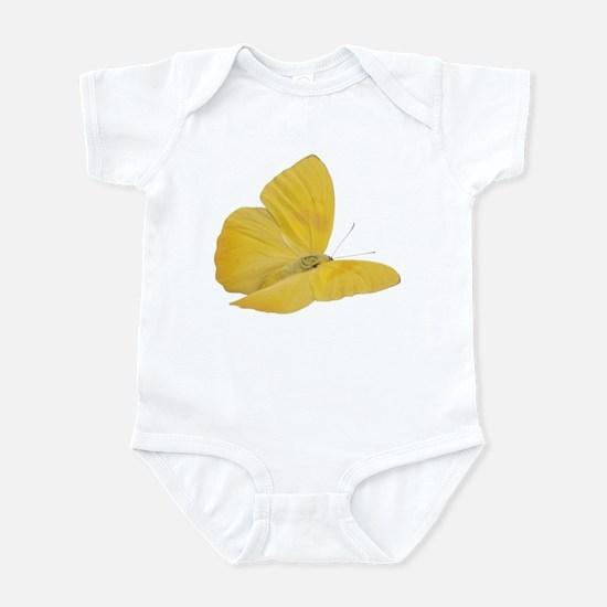 Yellow Butterfly (Bug 7) Infant Bodysuit
