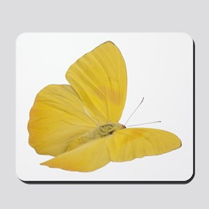 Yellow Butterfly (Bug 7) Mousepad