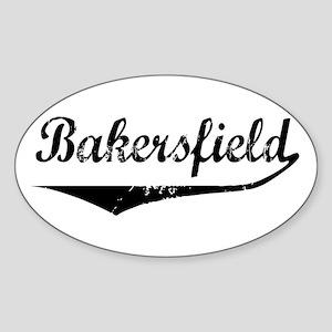 Bakersfield Oval Sticker