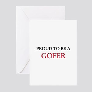 Proud to be a Gofer Greeting Cards (Pk of 10)