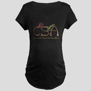 Community Agriculture Maternity Dark T-Shirt