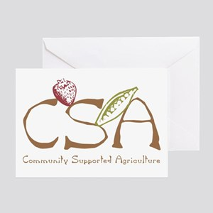 Community Agriculture Greeting Card