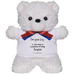 Bogosity Teddy Bear